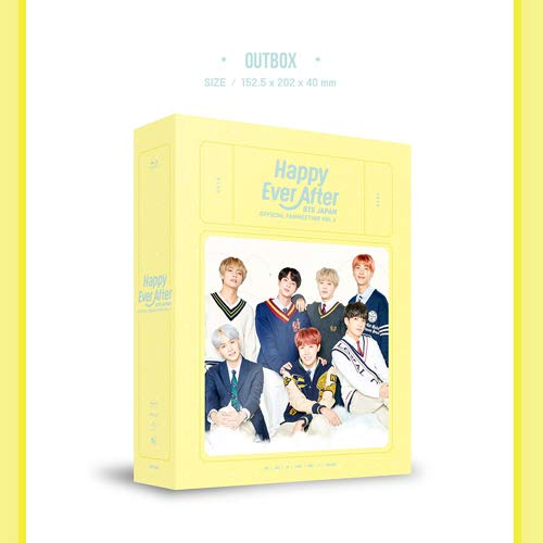 BTS JAPAN OFFICIAL FANMEETING VOL 4 [Happy Ever After] (初回限定生産・海外製造商品)[Blu-ray]