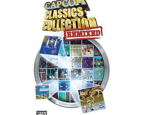 Capcom Classics Collection Remixed (輸入版) - PSP