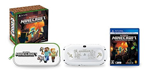 PlayStation Vita【数量限定】刻印モデル Minecraft Special Edition Bundle 1(PCH-2000ZA/MC2)